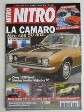 NITRO N° 289 /CAMARO/CORVETTE 77/BUICK SUPER 1941/CHARGER-CHALLENGER-CUDA