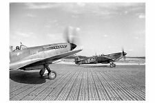 6x4 Gloss Photo wwA79 Normandy Mat Aerodrome Normandy Psp