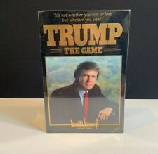 Donald Trump The Game New Unopened Factory Sealed Vintage 1989