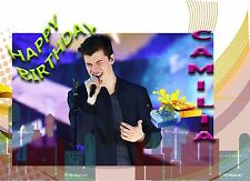 Personalised - SHAWN MENDES song - Birthday Greeting Card Any Occasion