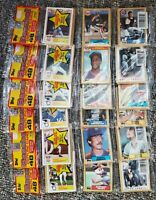 1987 Topps Unopened Rack Packs Possible Rookie Cards Inside