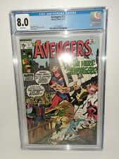 Marvel Avengers #77 CGC White Pages 1970 FREE SHIPPING Buscema