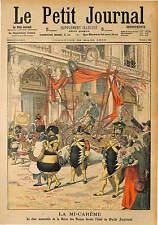 CARNAVAL MI CARTEME PARIS REINE DES REINE MADEMOISELLE MARIE MISSIOU 1903