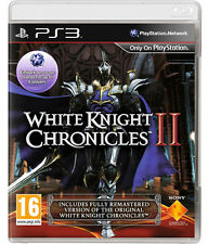 White Knight Chronicles 2 PS3 *in Excellent Condition*