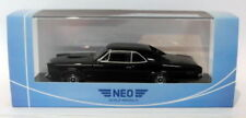 Véhicules miniatures noirs pour Pontiac 1:43