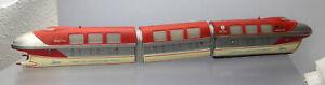 Schuco Disneyland Monorail 6333/0; Triebzug 3-teilig, rot /O817