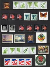 US 2014 NH COMPLETE DEFINITIVE YEAR SET 45 Stamps w/ COIL PAIRS - Free USA Ship