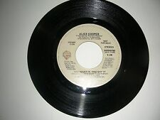 Rare Promo 45 Alice Cooper - You Want It You Got It  Warner Bros NM 1981