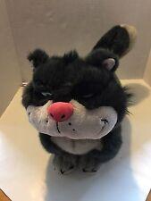 "Lucifer Disney Store Exclusive Cinderella Plush Cat 19"" Large Stuffed Animal"