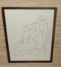 K.J.JONES NUDE WOMAN HAND SIGNED LITHOGRAPH