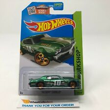 '7 Chevy Chevelle #194 * Green Kmart Only * 2015 Hot Wheels * G27