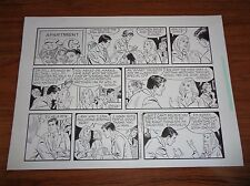 Original Art Apartment 3-G Frank Bolle Sunday Strips (x2) 2004,08 (FB-MISC-044)