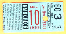 8/10/69 TIGERS/WHITE SOX TICKET STUB-NORM CASH HR/MICKEY LOLICH WIN