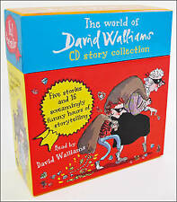 The World of David Walliams CD Story Collection: The Boy in the dress/Mr Stink/Billionaire boy/Gangsta granny/Ratburger by David Walliams (CD-Audio, 2013)