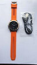 Garmin Fenix 6 Sapphire Titanium with Ember Orange 010-02158-14