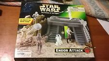 Star Wars Power Of The Force Hoth Battle And Endor Attack (NIB; Great Shape)