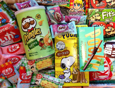 Kawaii Dagashi Gift ~ Japanese Kit Kats, Snacks, Candy, Beauty, Stickers, Masks