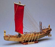 "Elegant, finely detailed Amati wooden model ship: the ""Egyptian Transport"""