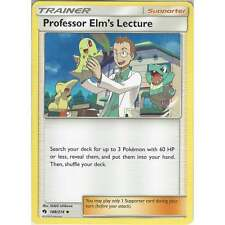 Pokemon Trainer Card: Professor Elm's Lecture - 188/214 - Uncommon -Lost Thunder