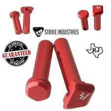 Strike Industries ULTRA LIGHT Enhanced Extended Take Down Front & Rear Pins RED
