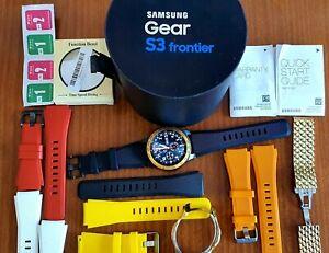 Samsung Gear S3 Frontier 46mm Smart Watch + Amazing Bundle! READ DETAILS