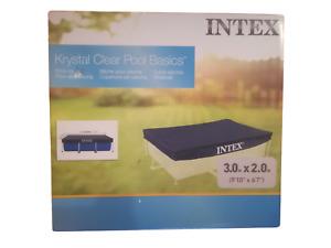 Intex Abdeckplane für Frame Pool 300x200cm ✅ Poolabdeckung ✅ neu+ovp ✅