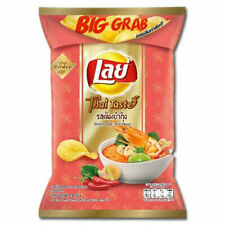 "Lay's Potato Chips ""Tom Yum Goong"" 73g Taste of Thai Cuisine Thailand"