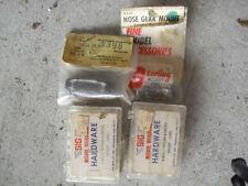 Lot of 4 Vintage R/C Accessory Parts Nose Gear Mounts Nylon Screws NIP