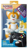 Tails Sonic Cable Guy Controller PS4 Xbox One Phone Holder Gaming - NEW Figure