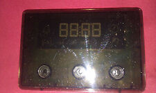 ZANUSSI ZCG662GXC GAS COOKER etc DIGITAL TIMER (Z66299)I - GENUINE