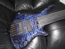 ROSCOE 6 string custom fretless bass