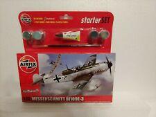 Messerschmitt bf109e-3 1/72 airfix model kit starter kit