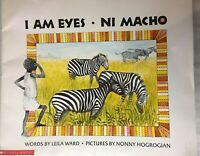 I Am Eyes Ni Macho  Scholastic  PB Day Care Big Books Teacher Day Care Librarian