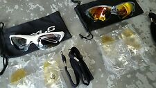 Raleigh XLC JAMAICA sunglasses (3 LENS PACK) Cycling Running Sports Sun Glasses