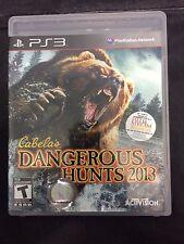 Cabela's Dangerous Hunts 2013-- PlayStation 3