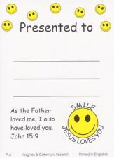 20 Children's Presentation Labels With Bible Text - EB132