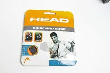 One New HEAD Sonic Pro Edge 16g Control Tennis String Set anthracite- Fast Ship!