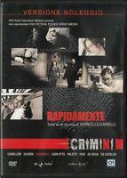 Crimini - Rapidamente - 01 DISTRIBUTION, Carlo Lucarelli - DVD nuovo sigillato