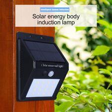 16 LED Solar Powered PIR Human Body Motion Sensor Lamp Outdoor IP65 Waterproof