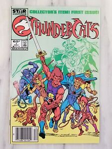 THUNDERCATS #1 NEWSSTAND!! HIGH GRADE!! CGC READY!!  1st Print Star Comics 1985