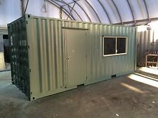 Work Shed – site office 20' General Purpose Refurbished container storage shed