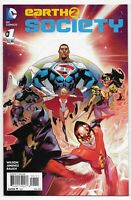 Earth 2 Society 1 Batman Superman 1st appearance of Johnny Sorrow