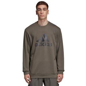 adidas x UNDEFEATED Running Crew Sweatshirt Sizes XS, S, XL Cinder RRP £85 RARE