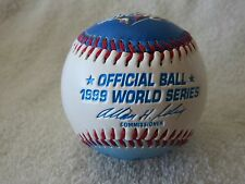 RAWLINGS OFFICIAL BALL 1999 WORLD SERIES BASEBALL YANKEES EMBOSSED
