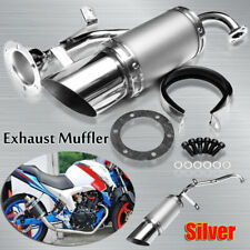 Scooter Short Performance Exhaust System Kit Fit GY6 150cc Chinese Scooter Parts