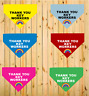 Thank You Key Workers Rainbow Printed Dog Bandana 6 Colours 3 Sizes Charity