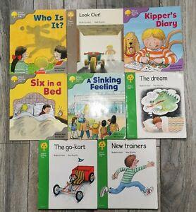 Level 1-2 Read With Oxford Biff Chip Kipper x  8 Books