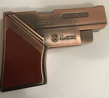 1X The New Sauer Sp2022 U S A Brass  Jet Flame Metal Gas  Lighter( See All Photo