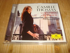 CAMILLE THOMAS Saint-Saens & Offenbach Works for Cello DGG CD Signed Signiert