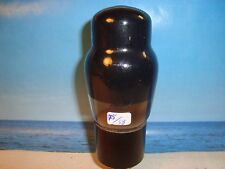 6Y6G  VT168A ( 6L6G )  General Electric   smoked glass (408)